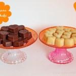 Vegane Schokolade – weiße Vanille Mandel – dunkle Haselnuss Mandel