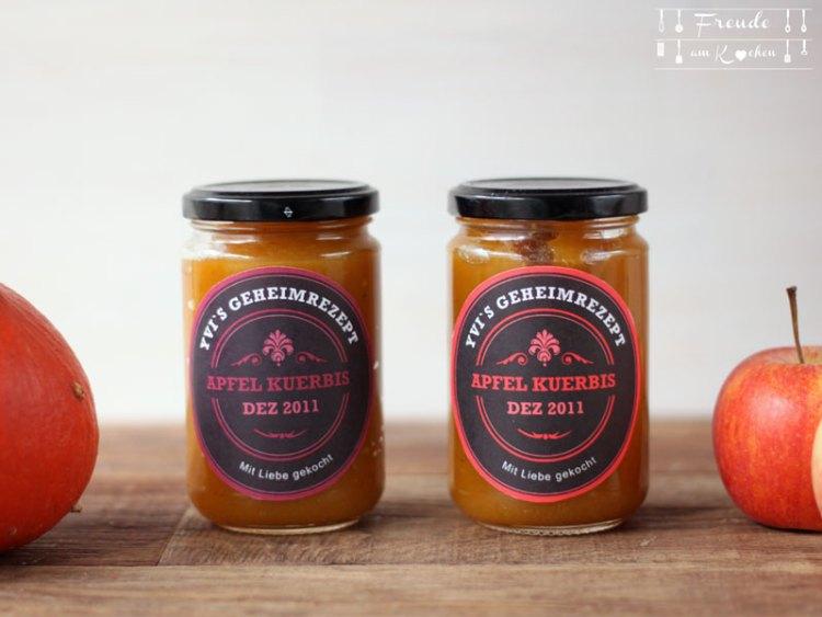 Kürbis Apfel Marmelade - Freude am Kochen