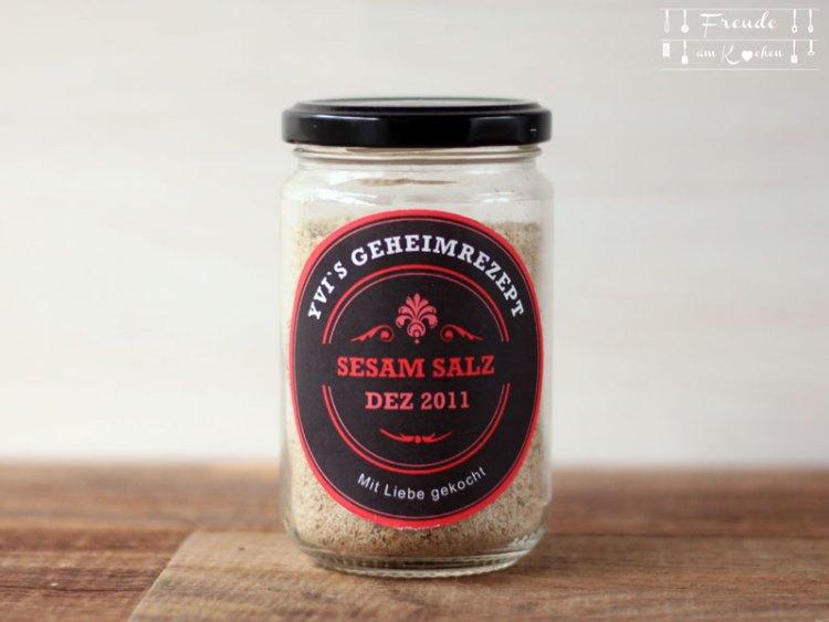 Schnelles Sesam Salz - Gomasio - Freude am Kochen