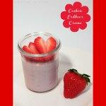 Cashew-Erdbeer Creme bzw Cashew-Joghurt