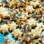 Weihnachten: Pikante Blätterteig Sterne