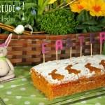Saftiger Karottenkuchen für Ostern