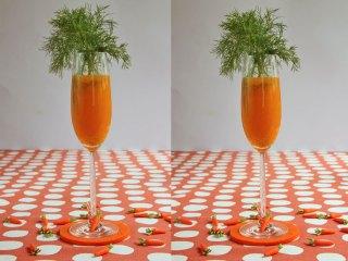 Karotten Style Oster-Aperitif
