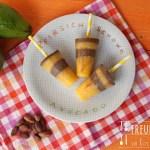 Popsicle – Pfirsich & Schoko-Avocado
