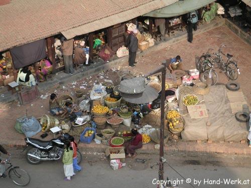 Patan-Durbare-Square-Markt-