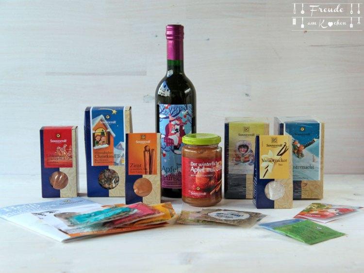 Sonnentor Veganer Blogger Adventkalender Gewinnspiel Freude am Kochen
