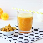 Kurkuma Orangen Ingwer Drink – meine goldene Superfood Limonade
