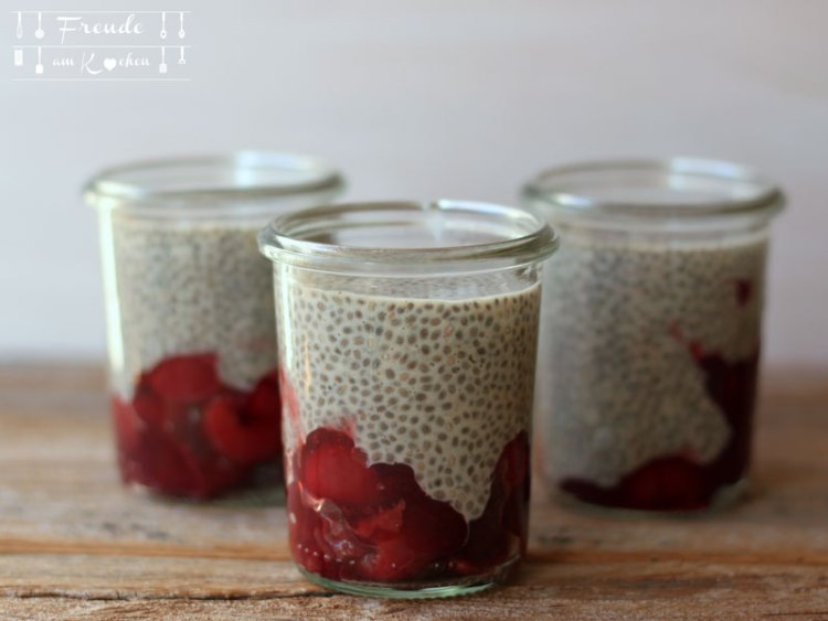 Lebkuchen Chia Pudding - Freude am Kochen