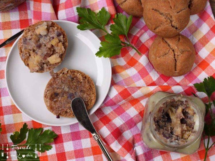 Rezension: Vegan Brotaufstriche & Gebäck von Gina Martina-Williams - Freude am Kochen