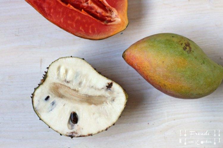 Sri Lanka - Food Haul und Kunsthandwerk Shopping - Freude am Kochen - Sour Soup Frucht