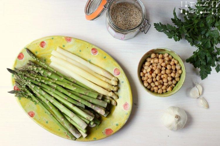 Spargel Hummus - Rezept vegan - Freude am Kochen