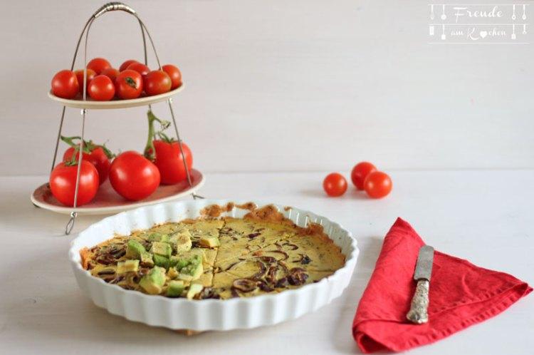 Farinata - Socca - italienischer Kichererbsen Fladen - Rezept vegan - Freude am Kochen