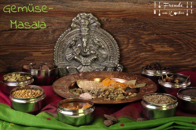 Indische Gemüse Masala Gewürzmischung - Gewürz Adventkalender - Freude am Kochen