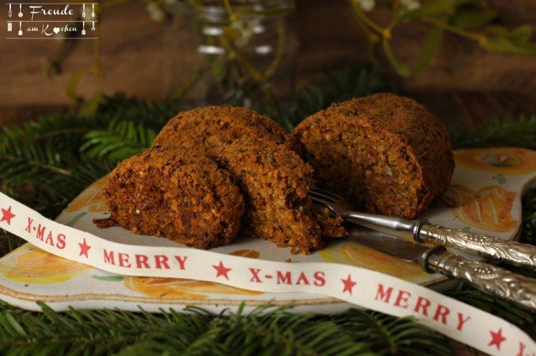 Hirse Linsen Tomaten Braten - Weihnachten vegan - Freude am Kochen