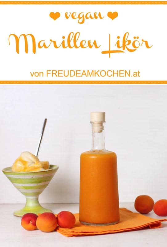 Marias Marillenlikör bzw alkoholische Fruchtsauce - Aprikosenlikör - vegan - Freude am Kochen