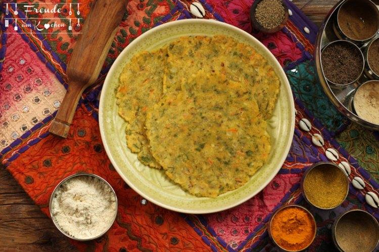 Reis Roti- Akki Roti Karnataka Style - glutenfrei - Freude am Kochen vegan