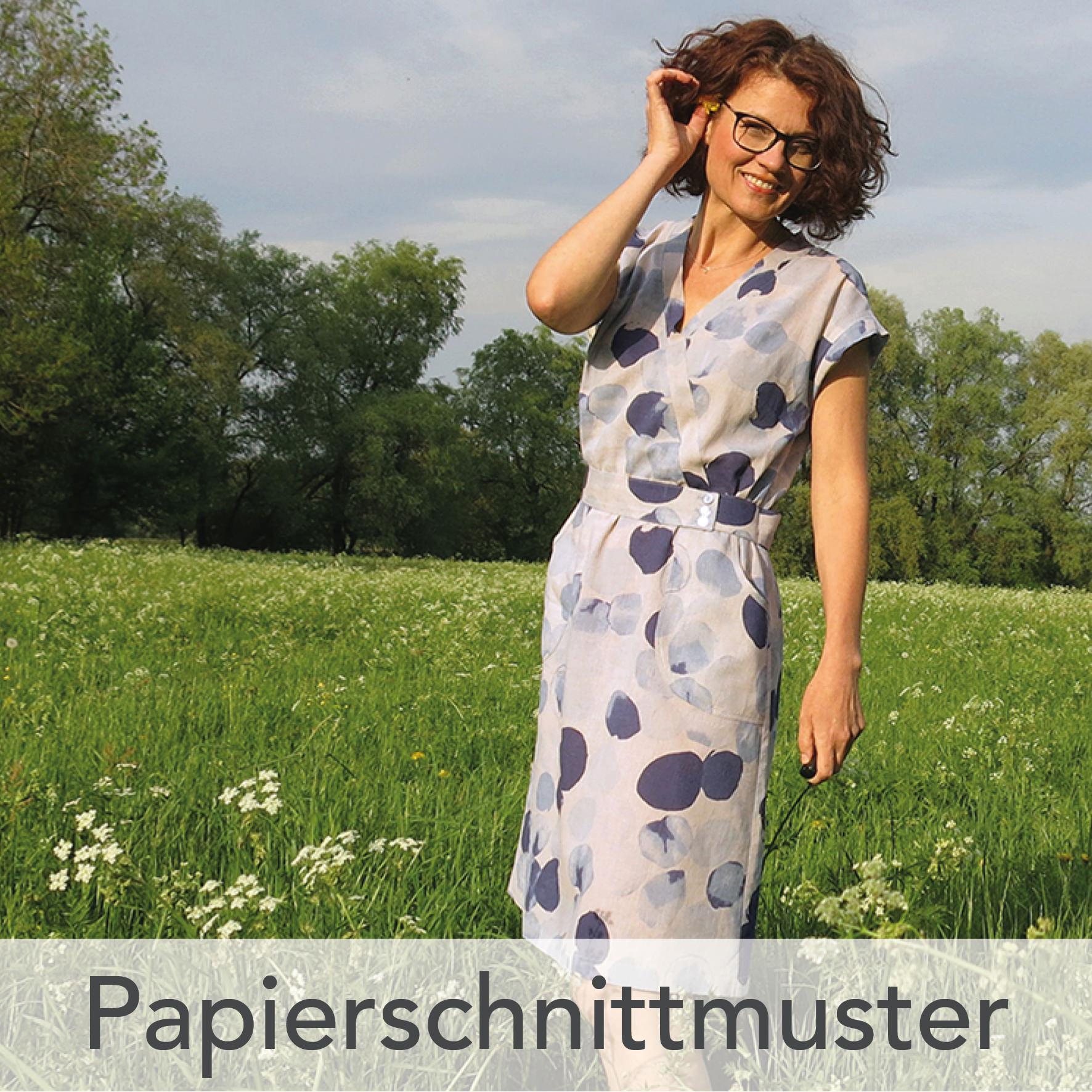 Papierschnittmuster Kleid Katrein