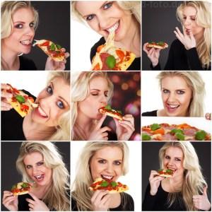 Model isst Pizza