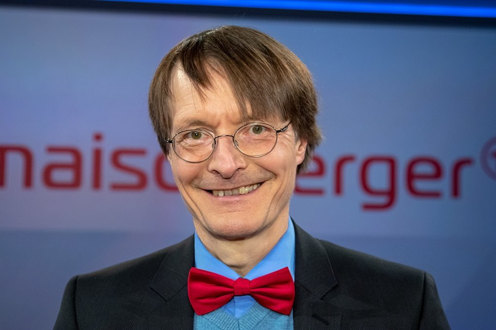 "Karl Lauterbach in der WDR-Sendung ""Maischberger"" am 2019-04-10/ © Superbass / CC BY-SA 4.0 (via Wikimedia Commons), 2019-04-10-Karl Lauterbach-Maischberger-5317, CC BY-SA 4.0"