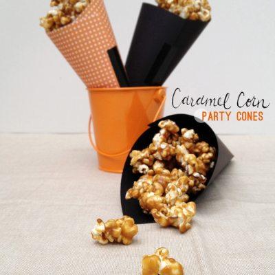 Caramel Corn Cones