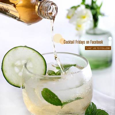 Cocktail Fridays: Elderflower Champagne