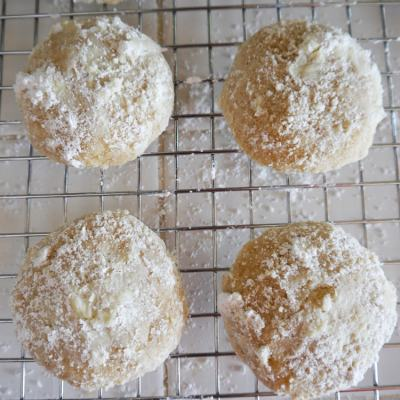 Browned Butter Cardamom Cookies
