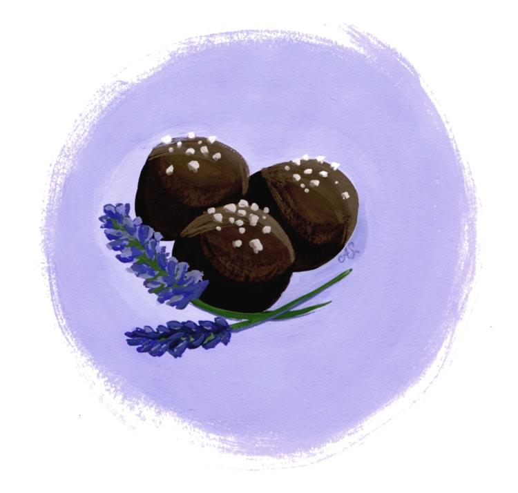 Freutcake Lavender Truffle Recipe