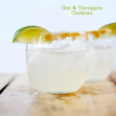 {Cocktail Friday} Gin & Tarragon