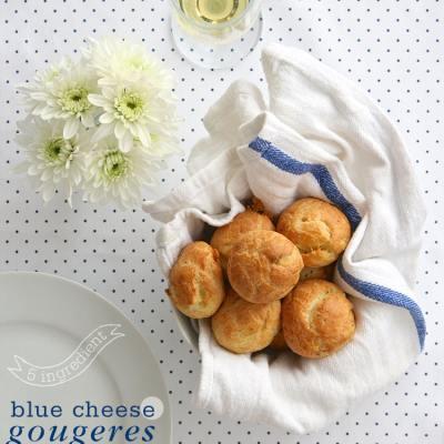 5-Ingredient Blue Cheese Gougeres