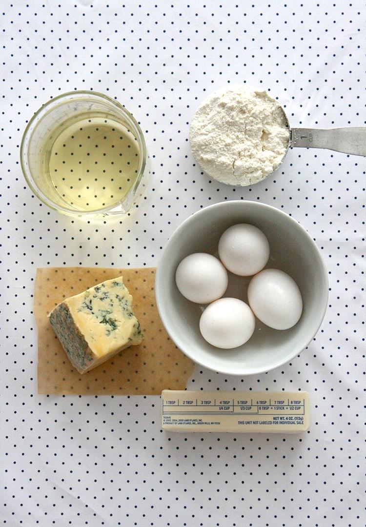 Blue Cheese Gougeres   Freutcake