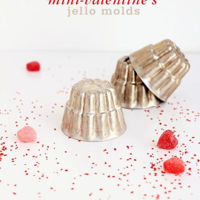 Mini Valentine's Jello Molds