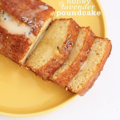 Honey Lavender Pound Cake