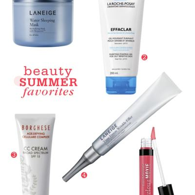 Favorite Beauty Products for Summer