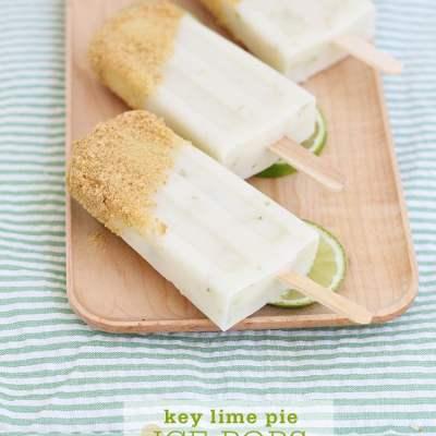 Key Lime Pie Ice Pops
