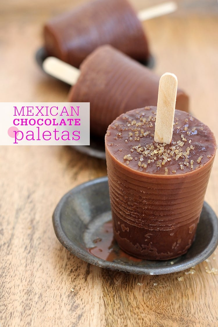 Mexican Chocolate Paletas