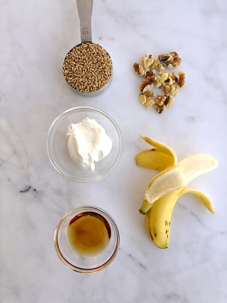 Banana Bread Barley