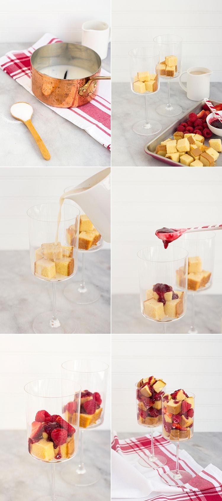 Berries and Cream Parfait