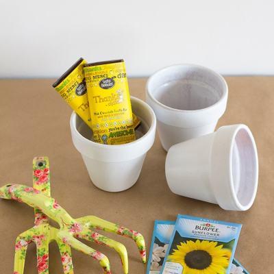 DIY Thank You Flower Pots