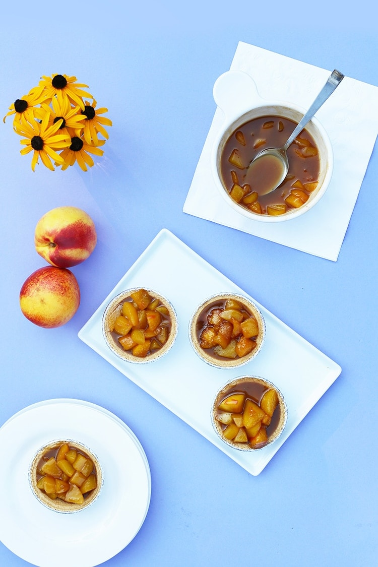 Mini Peach Bourbon Pies 3