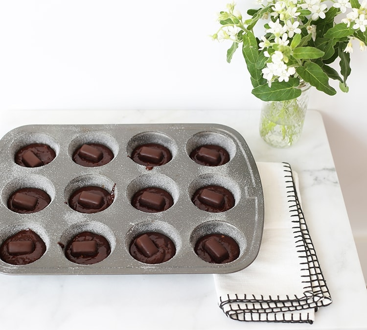 Molten Chocolate Truffle Cakes