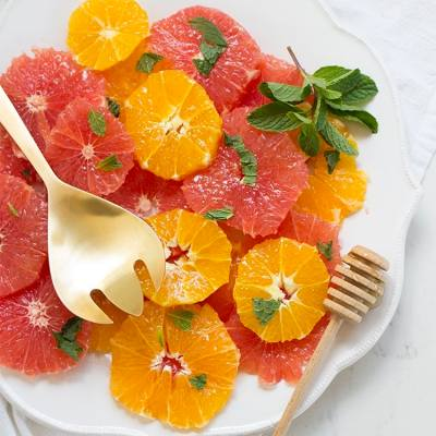 Citrus Salad with Honey & Mint