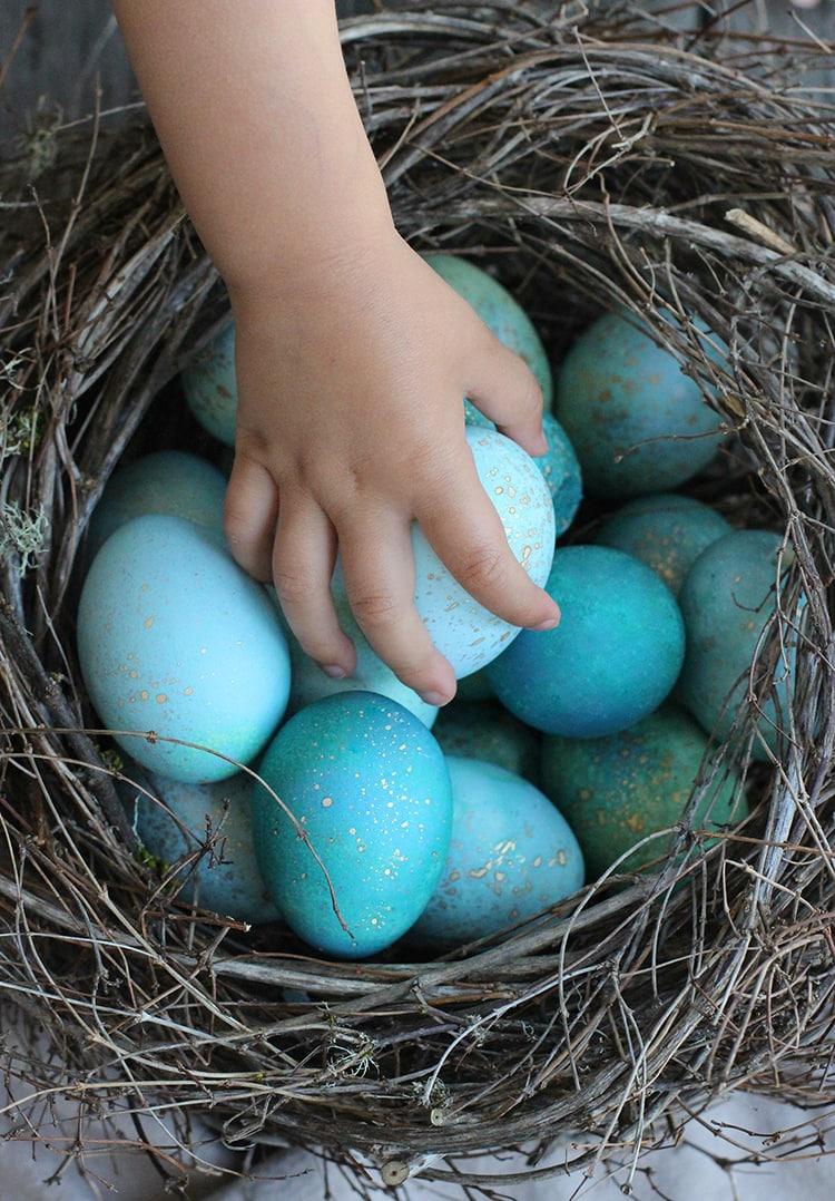 Robins Egg Easter Eggs