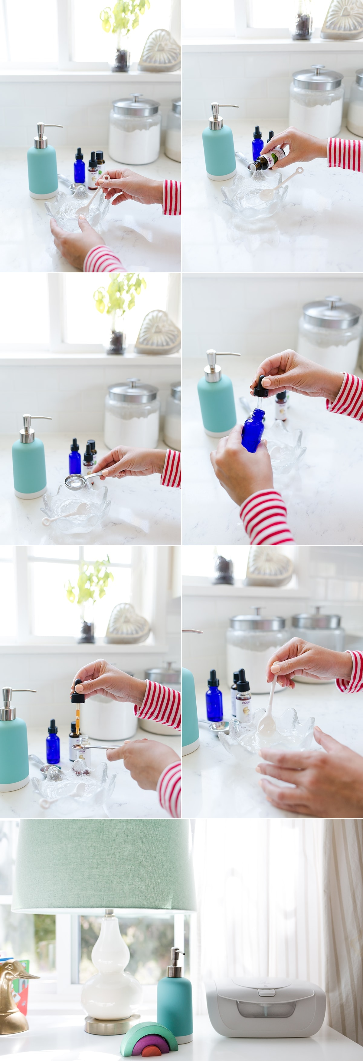 Homemade Lavender Hand Sanitizer