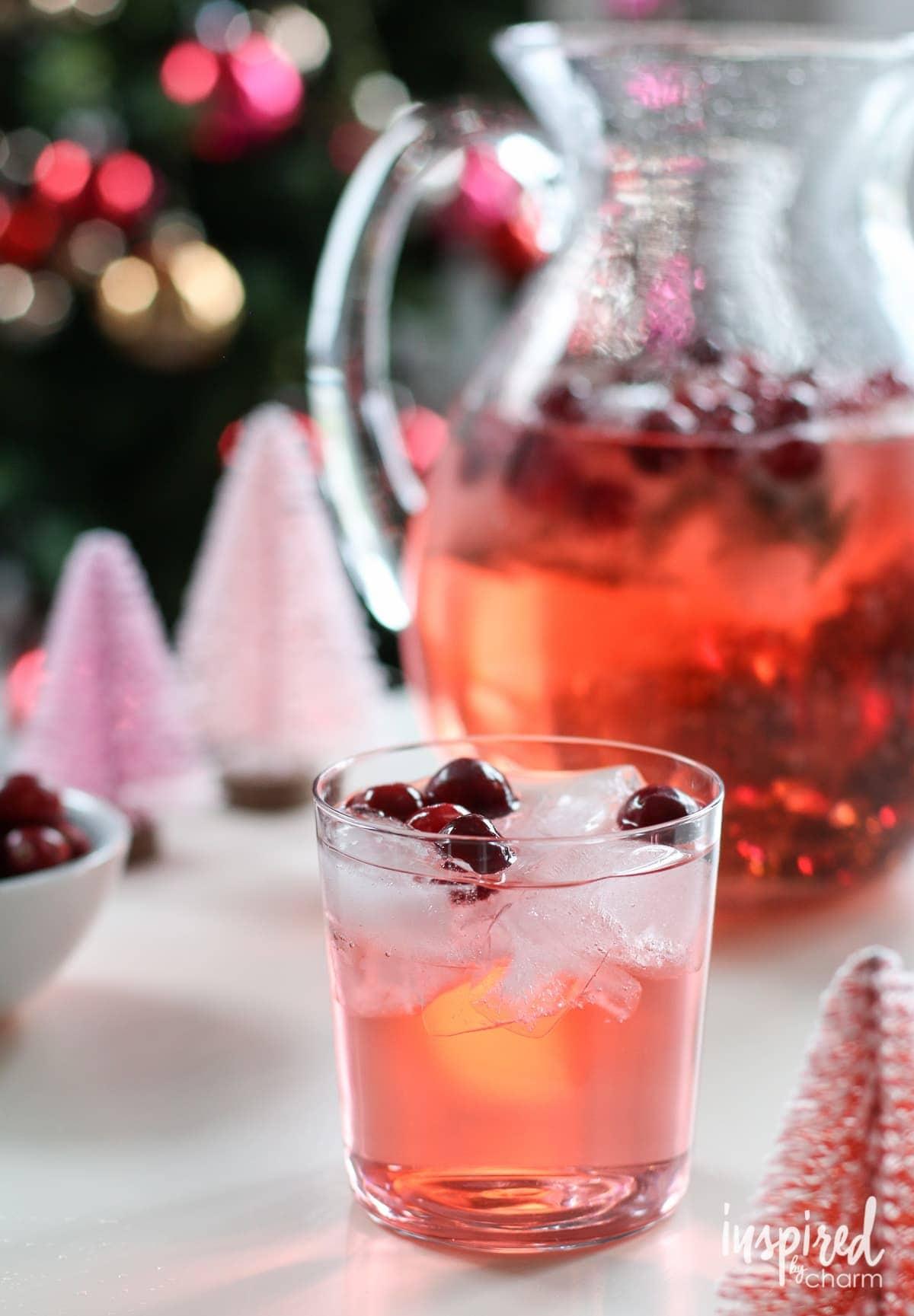 Jingle Juice Holiday Punch Recipe