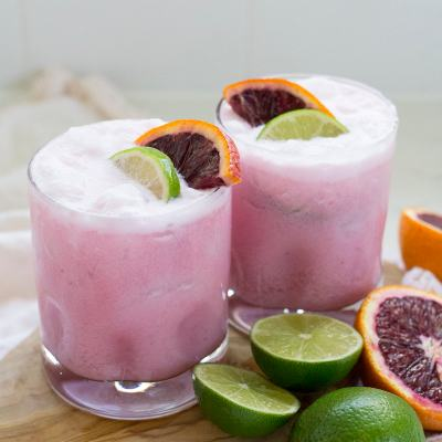 Coconut Blood Orange Margaritas