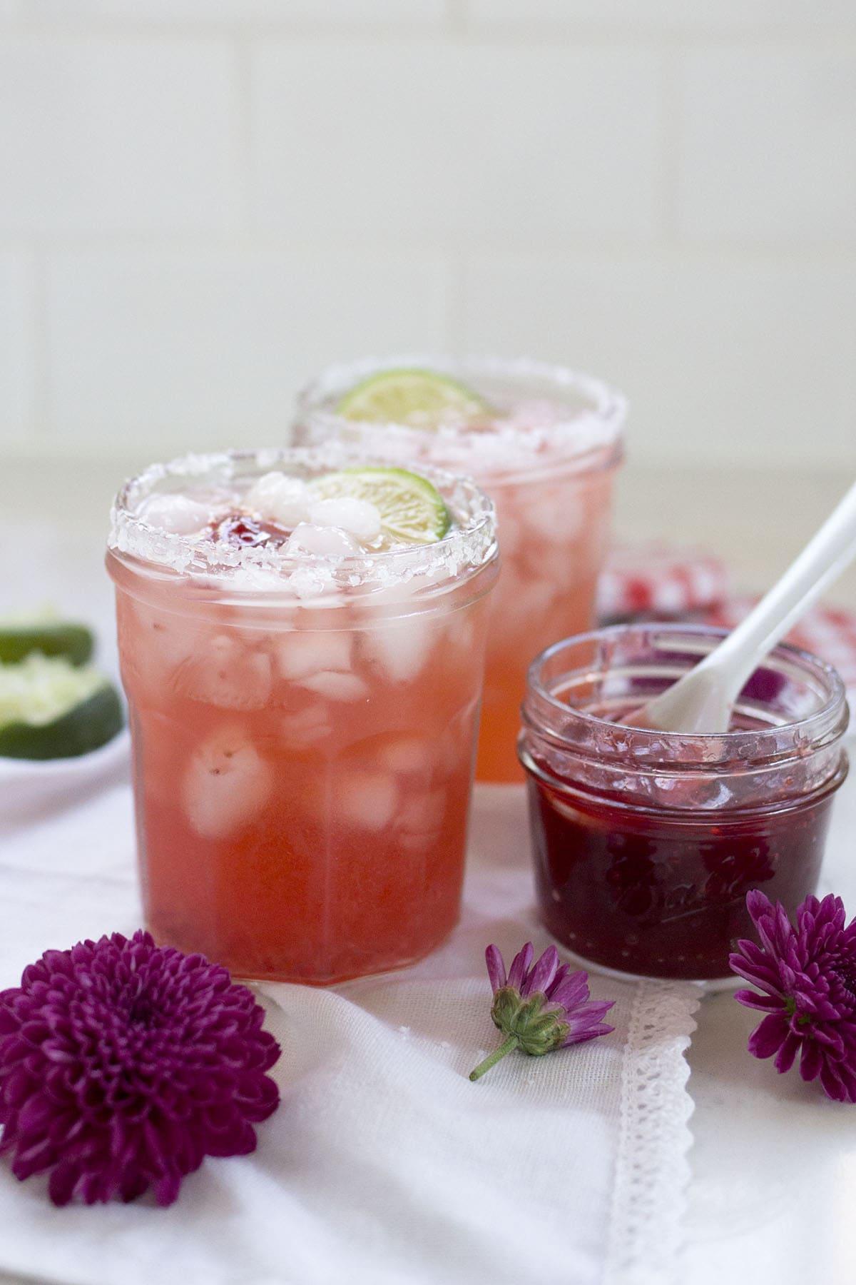 Jam Jar Margaritas