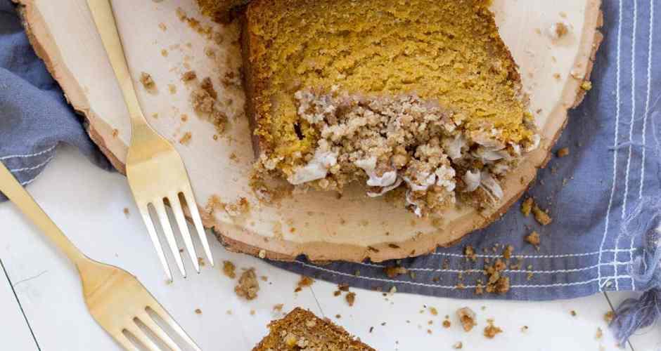 Pumpkin Crumb Loaf Cake