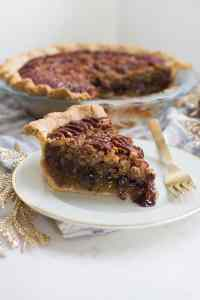 Dark Chocolate Pecan Pie