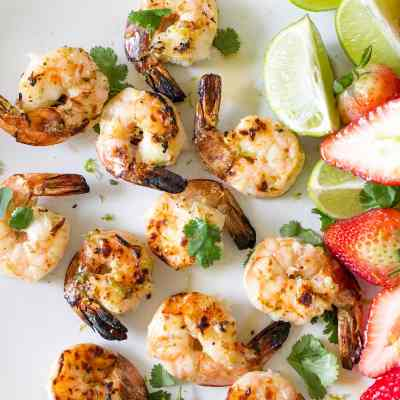 Citrus Rum Grilled Shrimp