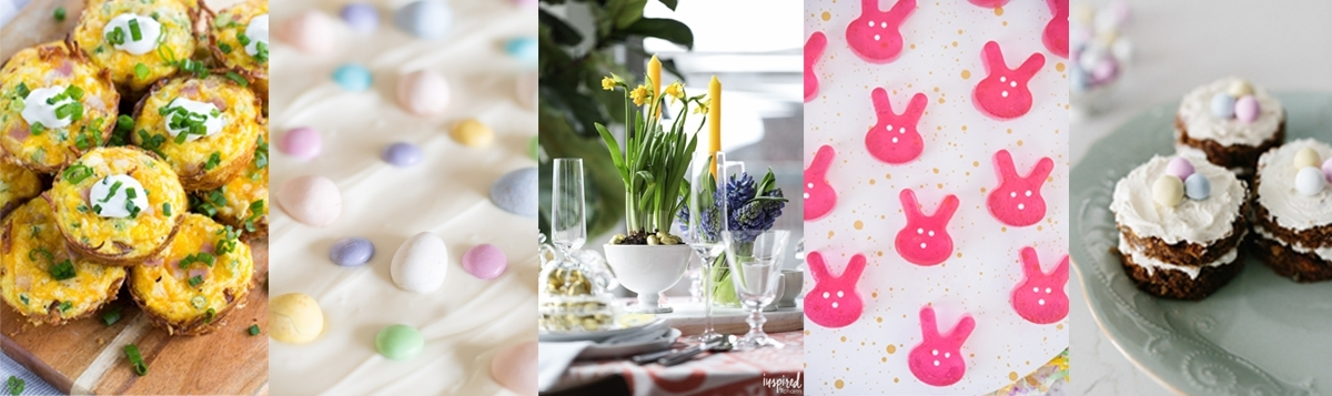 Easter Entertaining and Recipe Ideas from Top Bloggers